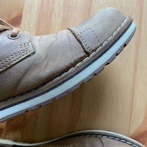Leather shoes men's size 8